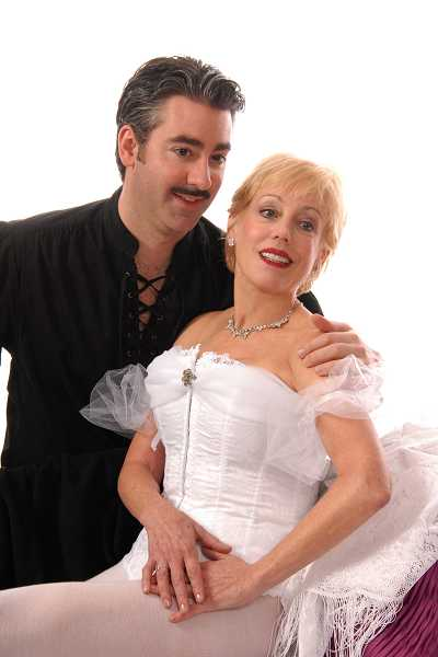by: SUBMITTED PHOTO - Pictured are Matthew Hayward as the baron and Cherie Price as the ballerina.