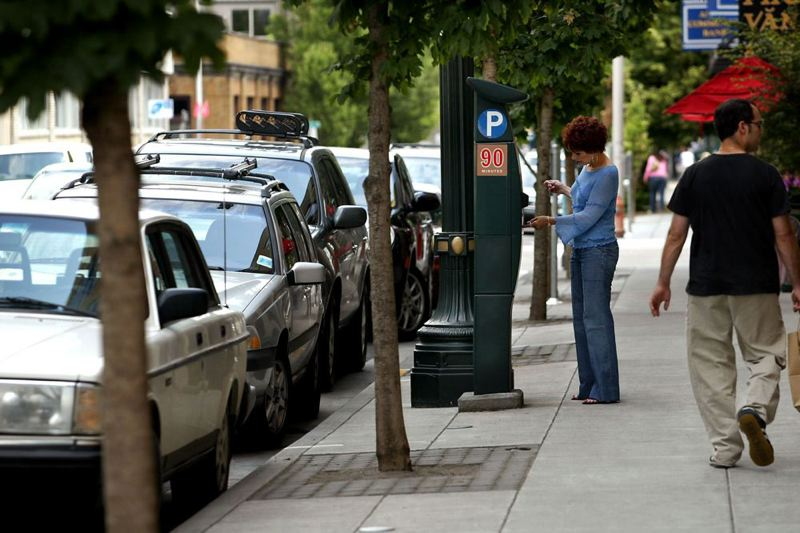 by: TRIBUNE FILE PHOTO: L.E. BASKOW - Fines for overtime parking in Portland, and seven other offenses, are going up in early February.