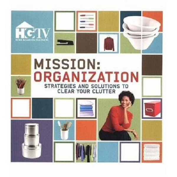 by: SUBMITTED - This book from HGTV is full of organization projects, complete with before and after photos.