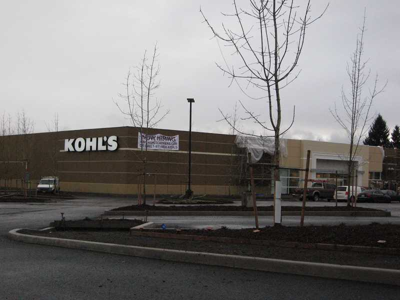 by: RAY PITZ - Significant progress has been made on the former Sherwood Joe's Sports and Outdoors store, which is being transformed into a Kohl's Department Store. Plans are to open the new store in March and the store is seeking 105 employees to hire.