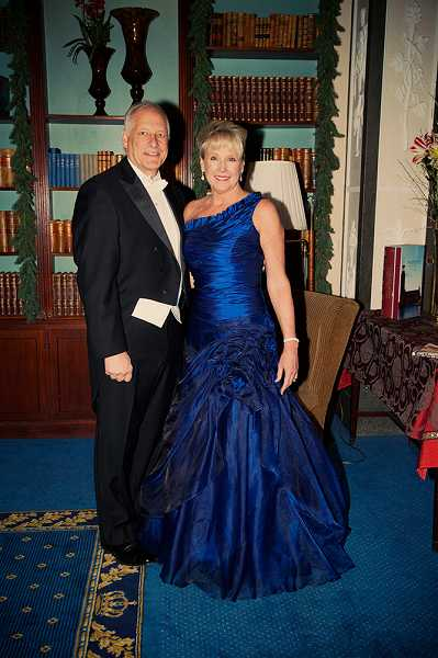 by: SUBMITTED - David and Ann Thompson make a striking couple as they prepare to attend the 2012 Nobel Prize Award Ceremony.