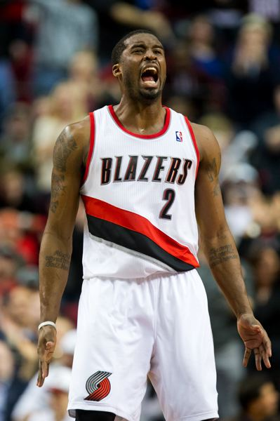 by: TRIBUNE PHOTO: CHRISTOPHER ONSTOTT - Wesley Matthews ties the game late with a 3-pointer, and the Trail Blazers go on to beat the Miami Heat 92-90 Thursday at the Rose Garden.