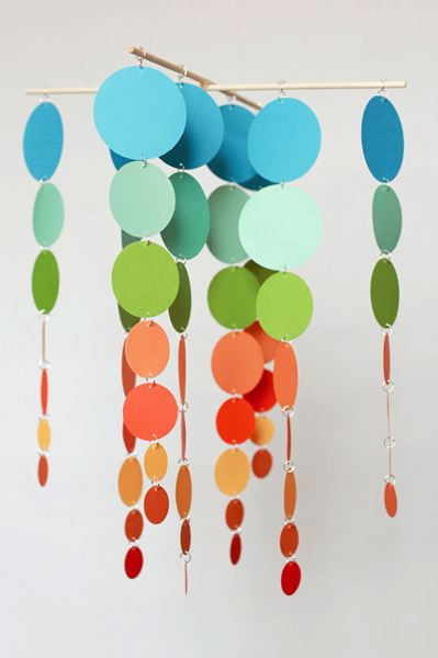 by: COURTESY PHOTOS - Vicki Joslyn creates whimsical fused-glass mobiles. The artists work is on display in Valley Art, along with oil paintings by Donna Clark.