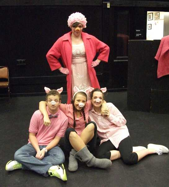 by: SUBMITTED PHOTO - The Three LIttle Pigs and Mama Pig in 'Walter's Big Bad Day.'