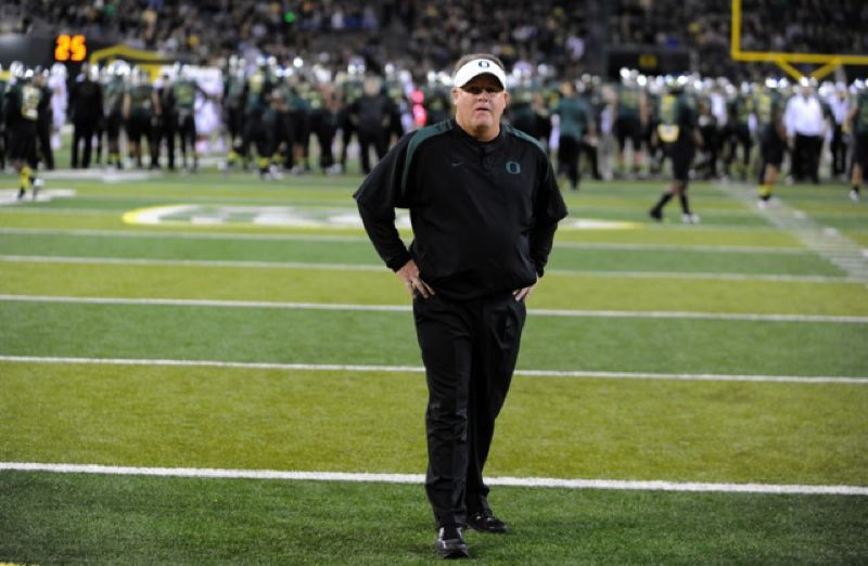 by: GREG WAHL-STEPHENS - Oregon's task now is to replace Chip Kelly as head football coach, after Kelly walked away from the Ducks on Wednesday to become head coach of the NFL Philadelphia Eages.
