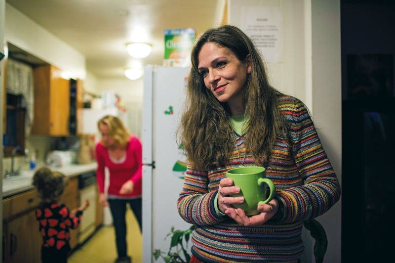 by: TRIBUNE PHOTO: CHRISTOPHER ONSTOTT - Oxford House resident Elizabeth Smith says if her house is forced to accept an addict taking methadone her own recovery would be threatened. Government officials say she may not have a choice.