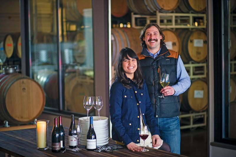 by: TRIBUNE PHOTO: CHRISTOPHER ONSTOTT - Five months after forming the SE Wine Collective, Thomas and Kate Monroe have moved to showcase local wines and meals from notable Portland chefs in a new supper club series.
