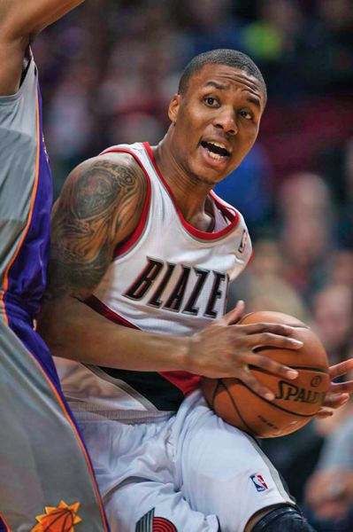 by: TRIBUNE PHOTO: CHRISTOPHER ONSTOTT - Portland point guard Damian Lillard is the runaway leader for NBA rookie of the year in the eyes of many.