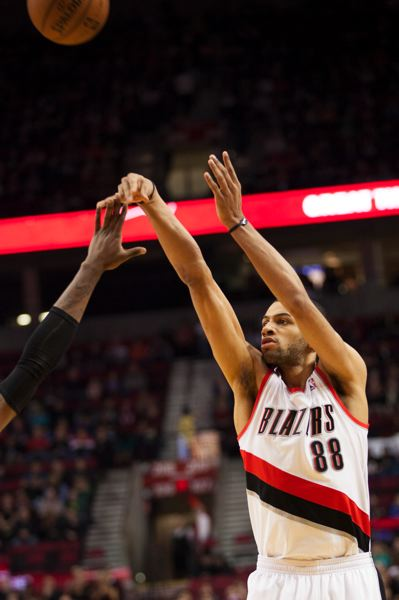 by: TRIBUNE PHOTO: MEG WILLIAMS - Trail Blazers forward Nicolas Batum had 23 points and 12 rebounds, but also a career-high nine turnovers in the loss to Cleveland.