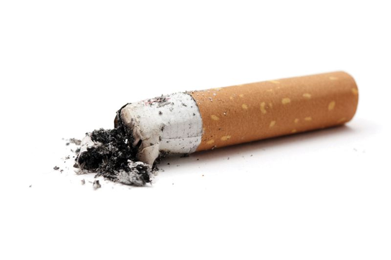 by: STOCK PHOTO - Recycling cigarette butts