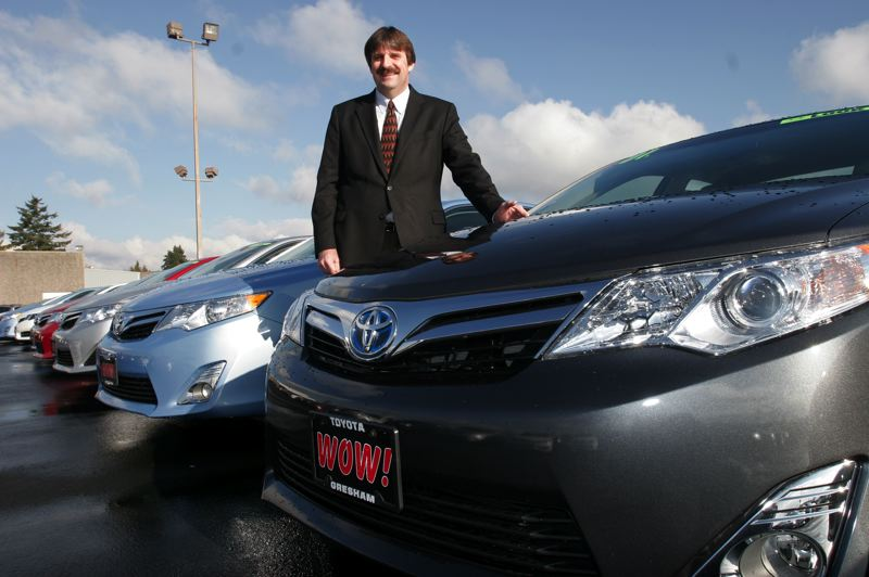by: OUTLOOK PHOTO: JIM CLARK -  New car inventory at Gresham Toyota-Scion will include Toyota´s release of seven new body styles this year, said General Manager Ken Cornelison.