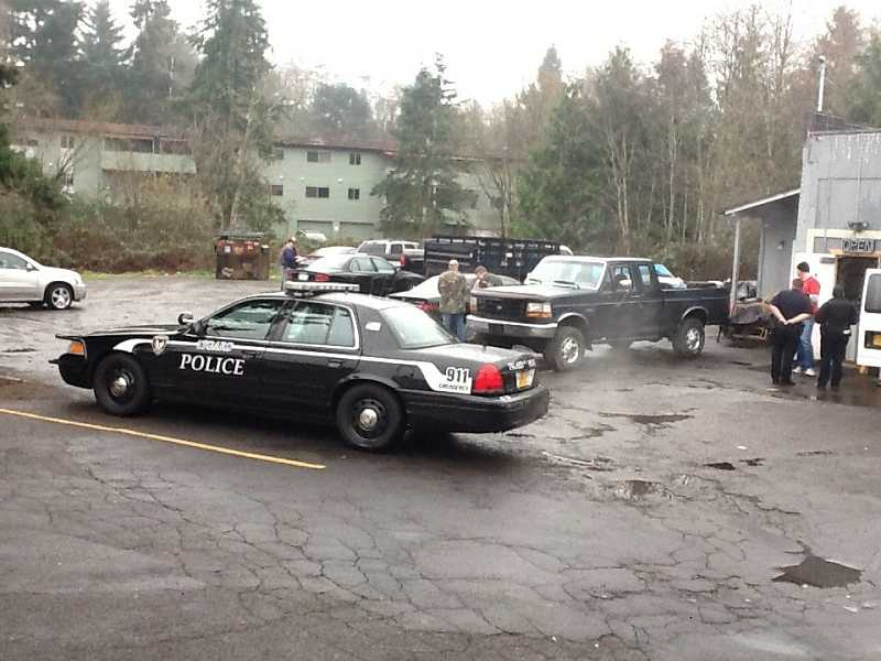 by: PHOTO COURTESY OF TIGARD POLICE - Affordable Automotive, located 13080 S.W. Pacific Highway