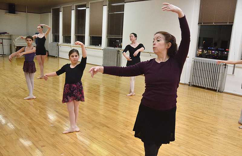by: VERN UYETAKE  - Passion is the first requirement that Morris has for her ballet students.