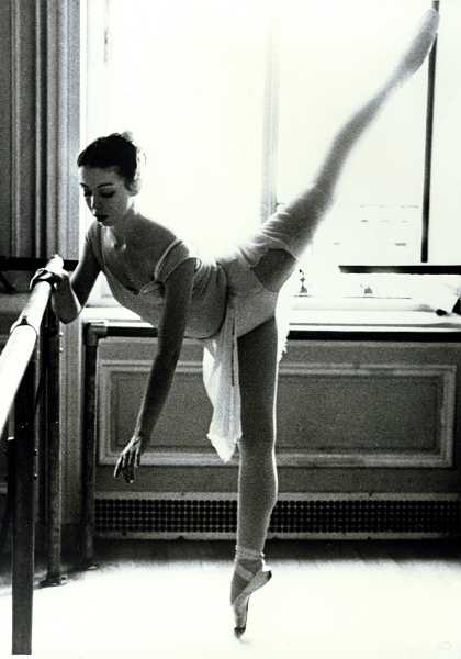 by:  KACIN MENEGHIN - Donna Morris is shown here at age 18 at the beginning of her career dancing at the Harkness House for Ballet Arts in New York City.