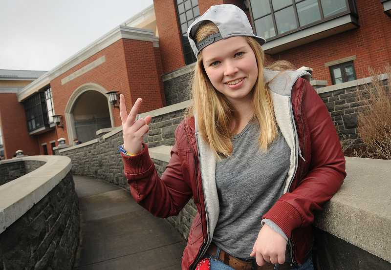 by: REVIEW PHOTO: VERN UYETAKE - Sina Holwerda auditioned for 'America's Got Talent' earlier this month. Her rapper name is Wynne.