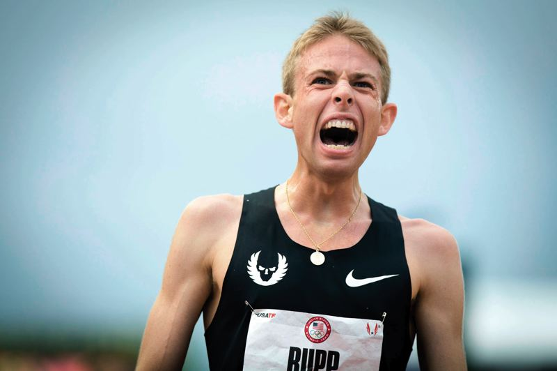 by: COURTESY PHOTO - Former University of Oregon runner Galen Rupp is in line for the Harry Glickman Award.