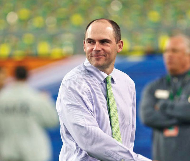 by: TRIBUNE FILE PHOTO - New University of Oregon head football coach Mark Helfrich says he is ready to lead the Ducks in his 'dream job.'