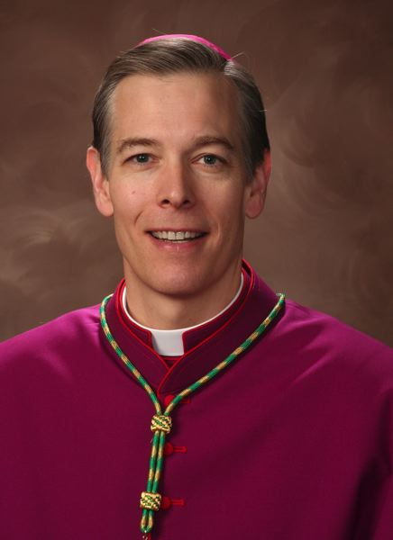 by: COURTESY OF THE CATHOLIC DIOCESE OF MARQUETTE - New Portland Archbishop Alexander K. Sample will be introduced Tuesday during a press conference.