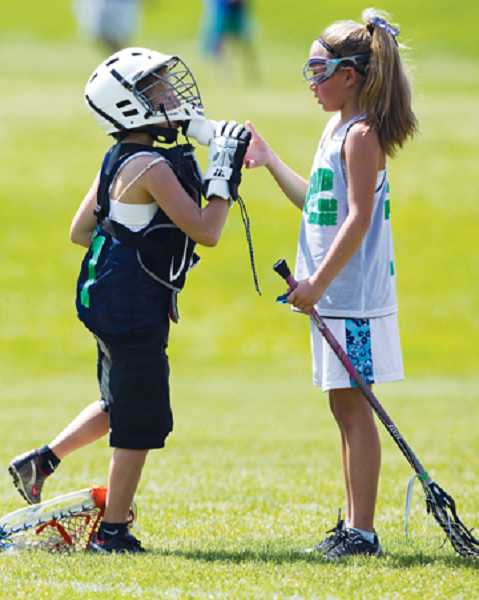 by: SUBMITTED PHOTO - Lake Oswego Parks and Recreation will offer girls youth lacrosse this season.