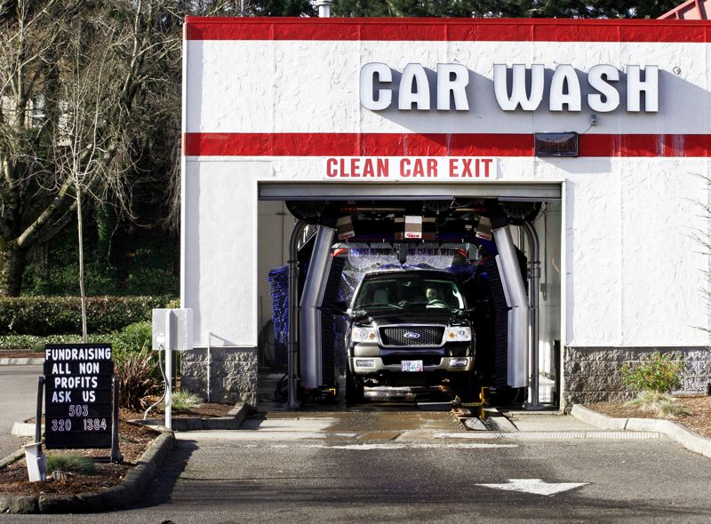by: OUTLOOK PHOTO: JIM CLARK - Mia's Xpress Car Wash opened in December, offering customers complimentary services, new brushless technology and a fundraising program for local nonprofits and community groups.