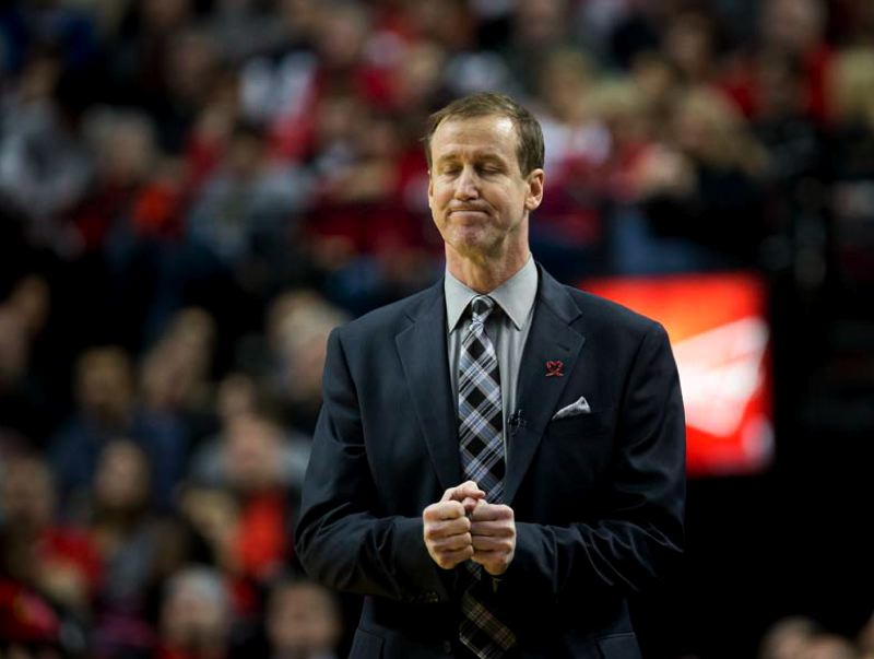 by: TRIBUNE PHOTO: CHRISTOPHER ONSTOTT - Terry Stotts has the Trail Blazers above .500 after 45 games in his first year as Portland coach.