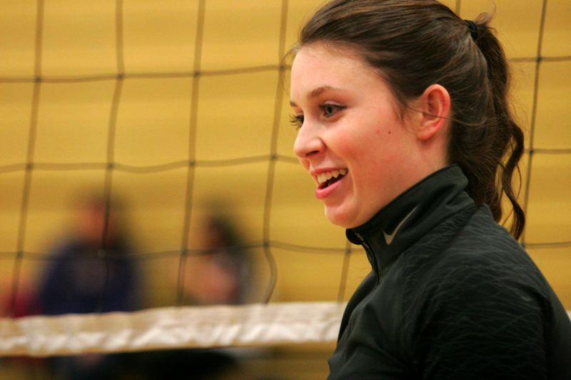 by: OUTLOOK PHOTO: JIM CLARK - Mackenzie Olson has a soft-spot for seniors and youth, but plans a career in health care management.