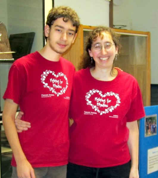 by: CONTRIBUTED PHOTO: RACHEL ALTMANN - Benjamin Morrison, a junior at Corbett High School, started a chess tournament to benefit Fanconi anemia research in memory of his sister, Nina. His mother, Rachel Altmann, has helped with the past three benefits.