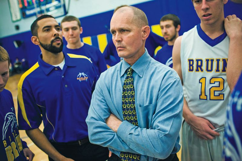by: TRIBUNE PHOTO: CHRISTOPHER ONSTOTT - Tom Johnson, veteran boys basketball coach at Barlow High, draws praise for his approach to dealing with prep players and his battle with  tongue cancer.