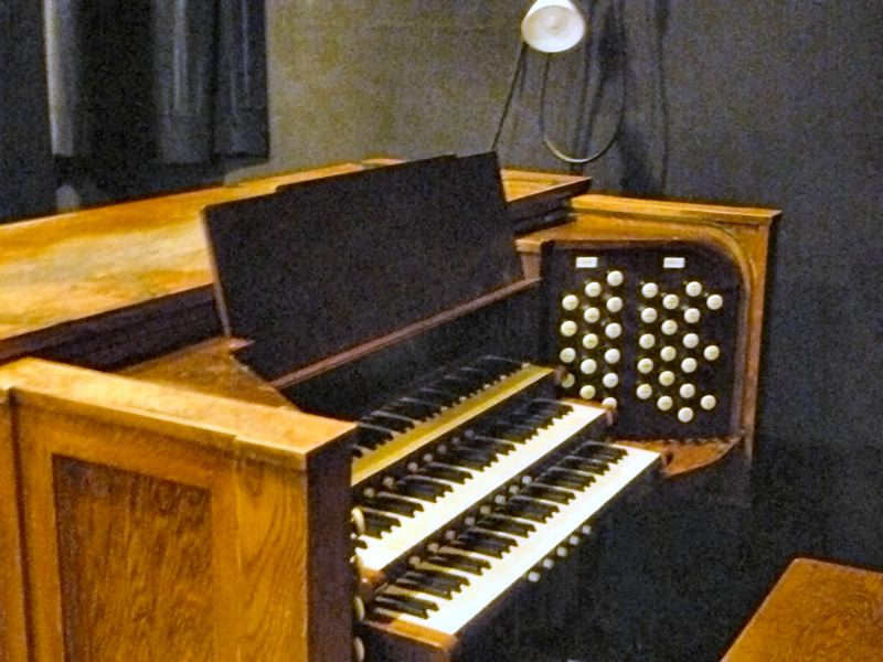 by: EILEEN G. FITZSIMONS - Dr. John Sellwood's 1916 residential pipe organ, put into a new console in 1938, remains the heart of this historic instrument, now in Astoria's Performing Arts Center.