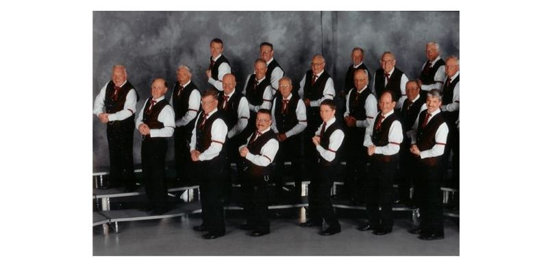 by: PHOTO COURTESY: OREGON TRAIL PITCHPIPERS - Oregon Trail Pitchpipers present Celebrate Harmony on Saturday, Feb. 16, with two shows at 2 and 7:30 p.m.