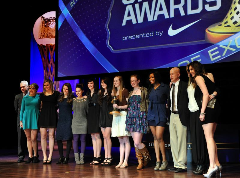 by: JOHN LARIVIERE - The Blue Mountain Community College volleyball team was one of five winners of the George Pasero Team of the Year Award.
