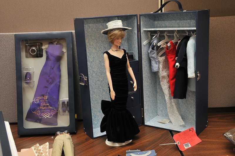 by: VERN UYETAKE - This collectible Diana doll was recovered from a string of 2012 area burglaries along with vintage tea sets, a coin collection and historical newspapers.