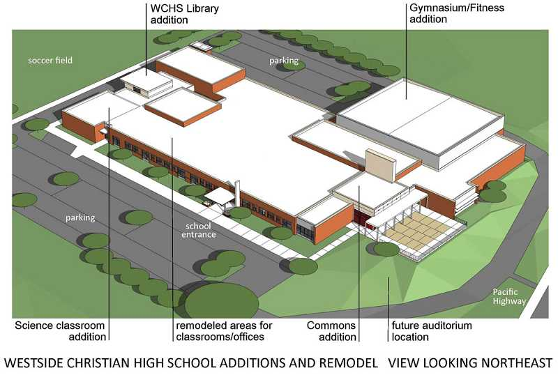 Westside Christian High School in Lake Oswego will be moving its campus to the City Bible Church building at the corner of Pacific Highway and Highway 217 starting next year, the school announced Tuesday.