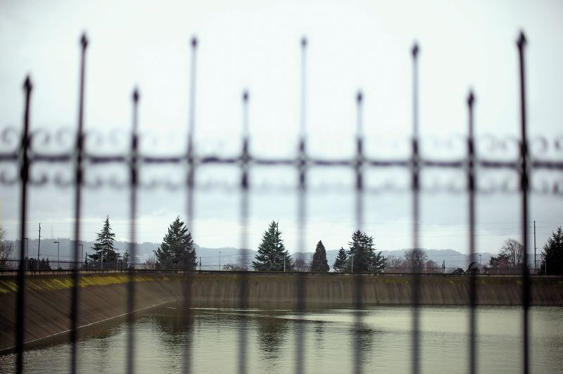 by: TRIBUNE PHOTO: CHRISTOPHER ONSTOTT - Reservoirs at Mount Tabor, such as this one, are among many hot-button issues for Portland's water supply, but none are as controversial as fluoridation.