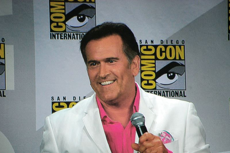 by: COURTESY PHOTO - Sexy B-movie star Bruce Campbell of Southern Oregon will be one of the featured performers at Portland's WizCon Feb. 22 to 24 at the Oregon Convention Center.