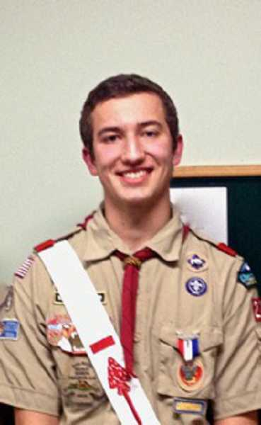by: SUBMITTED PHOTO - Durant Abernethy has earned the rank of Eagle Scout. His achievement will be celebrated at a Court of Honor March 21.