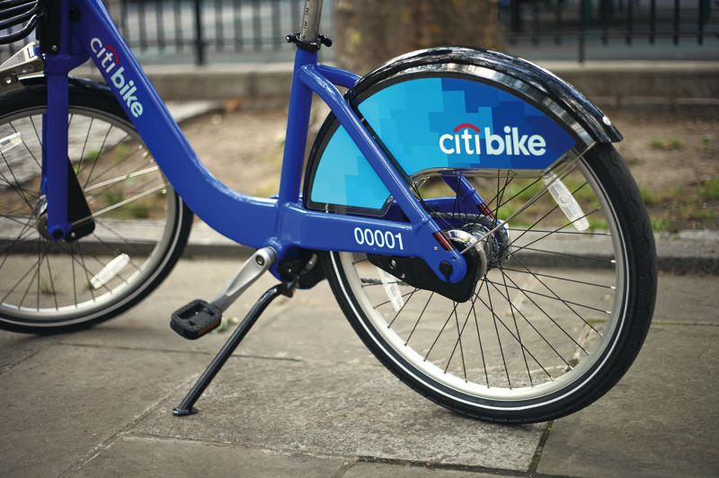 by: PHOTO COURTESY OF ALTA PLANNING & DESIGN - Citi Bike is a new bike-sharing program launching in May in New York City. Portland hopes to learn from other cities in starting its program next year.
