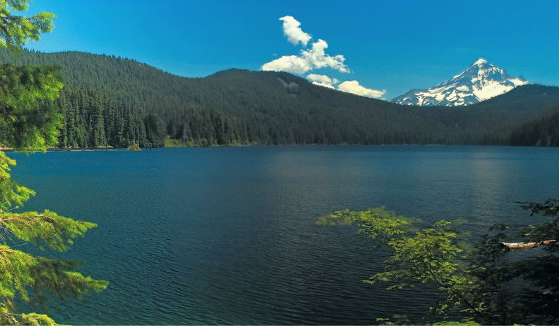 by: PHOTO COURTESY OF PORTLAND WATER BUREAU - Water originating from the Bull Run River, in the shadow of Mount Hood, is the primary source of drinking water for Portland and more than 350,000 residents of Gresham, Tigard, Tualatin, and other suburban communities.