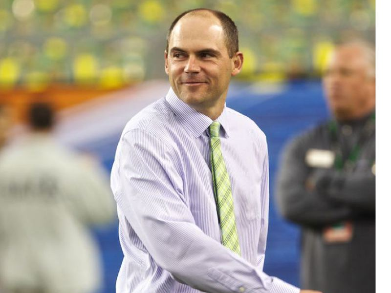 by: TRIBUNE FILE PHOTO - New Oregon Ducks football coach Mark Helfrich