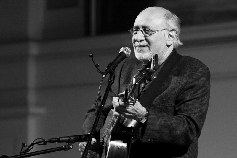 by: COURTESY PHOTO - Peter Yarrow, formerly of Peter, Paul and Mary, sings at Pacific University Saturday.