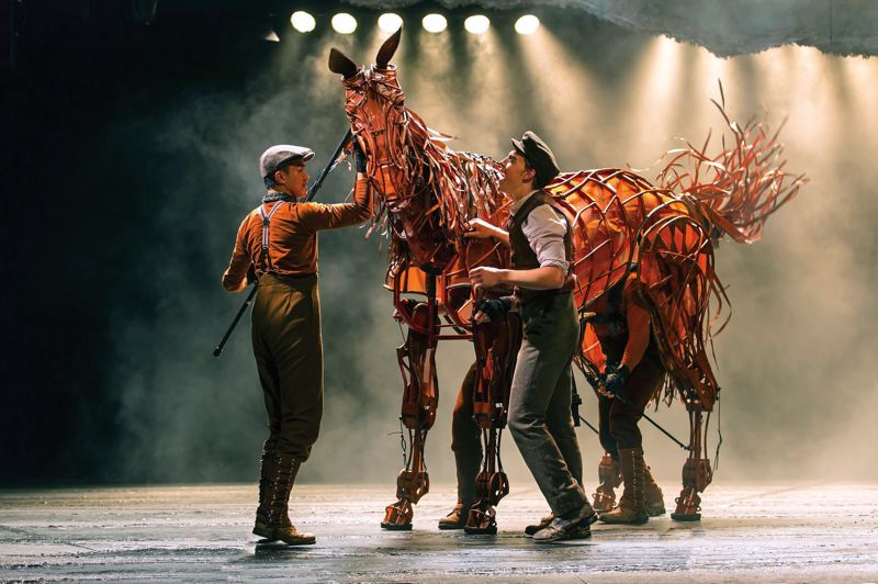 by: COURTESY OF BRINKHOFF/MOGENBURG - 'War Horse,' the World War I tale of courage, loyalty and friendship between a man and his horse, shows at Keller Auditorium, Feb. 26-March 3.