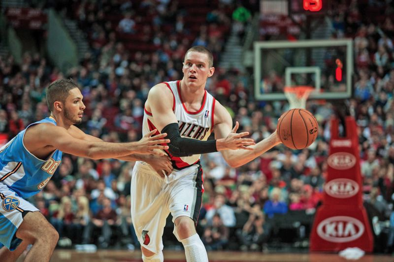 by: TRIBUNE FILE PHOTO - Trail Blazers' Luke Babbit has had his moments on the court, and becomes a free agent at the end of the season