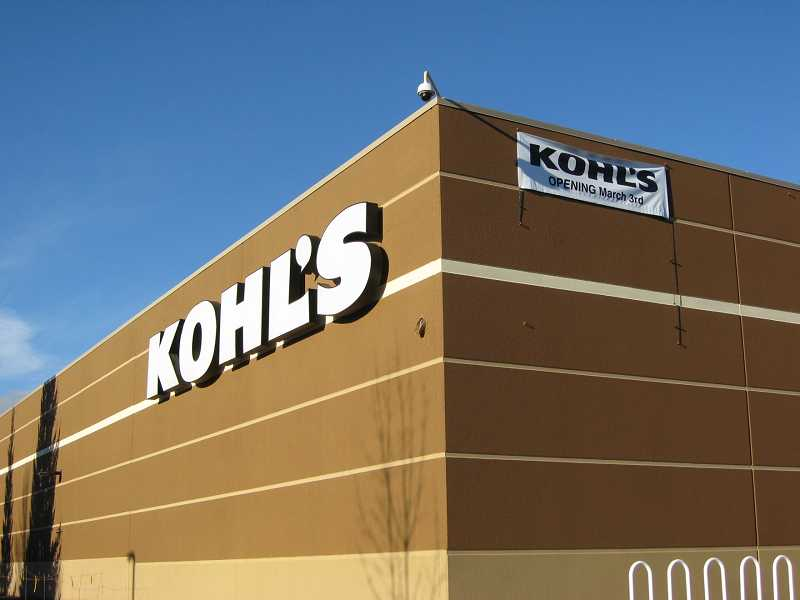 by: RAY PITZ - OPENING SOON - Kohl's plans a March 6 grand opening with a soft opening set for March 3