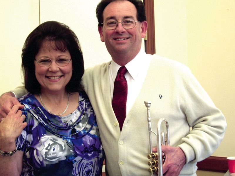 by: CONTRIBUTED PHOTO -  Cheryl Morris and Chuck Par-Due found each other through band leader/trumpeter Harry James. On March 10, the musical couple will be among the performers at '1945,' a Harry James/Frank Sinatra tribute show at the Bossanova Ballroom.