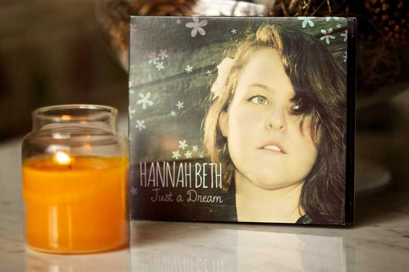 by: TIMES PHOTO: JAIME VALDEZ - Tualatin High School graduate and singer-songwriter Hannah Beth Dedlow just released her first album, Just a Dream.