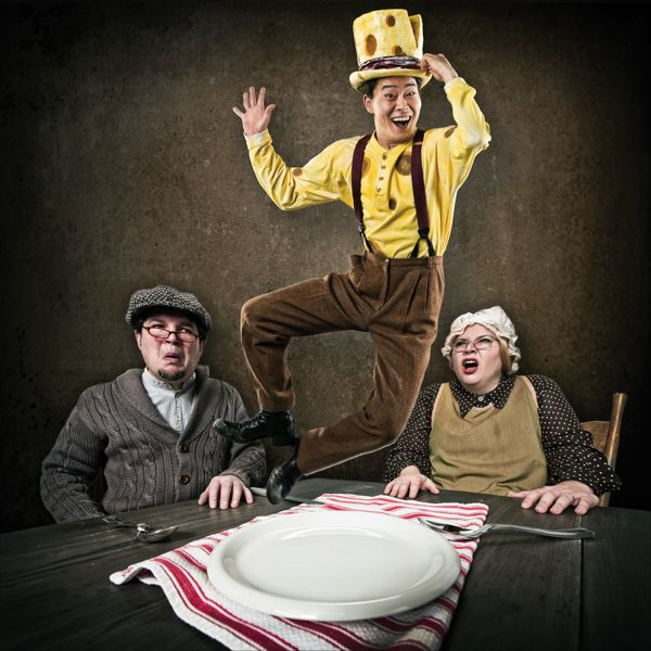 by: COURTESY OF OWEN CAREY/OCT - Oregon Children's Theatre puts on 'The Stinky Cheese Man and Other Fairly Stupid Tales,' March 2-24 at Winningstad Theatre.
