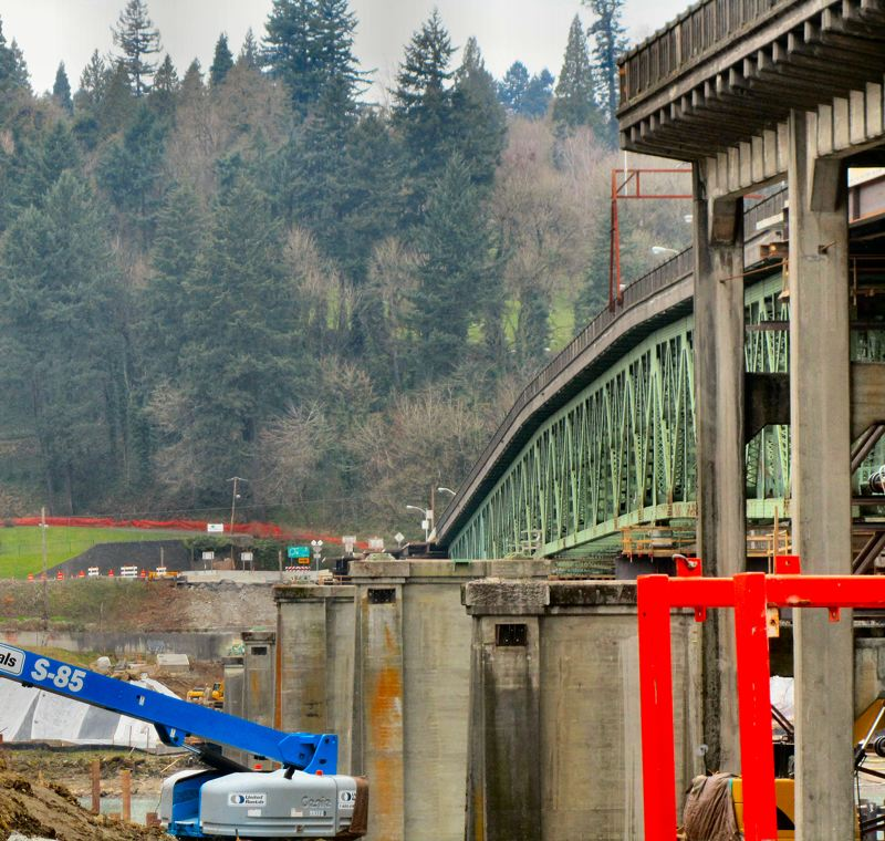 by: ERIC NORBERG - Sellwood bridge shift