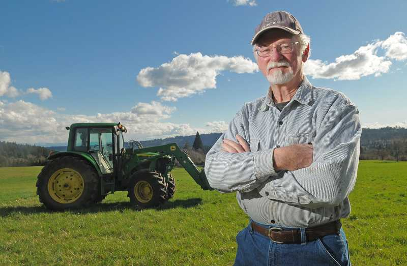 by: VERN UYETAKE - Stafford Hamlet Chairman Mike Miller is considered a small-property owner in the unincorporated area in Clackamas County, but he helps manage much larger properties and offers tractor work in the area, long looked at for urban development  between Lake Oswego, Tualatin and West Linn.