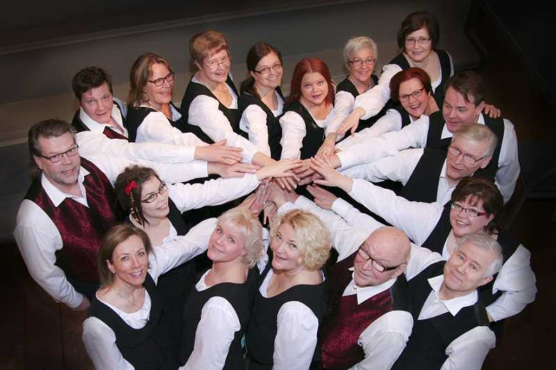 by: SUBMITTED PHOTO -  Sonore Chamber Choir from Finland will perform in Portland, West Linn, Astoria, Rosburg and Seattle from March 24 through 31.