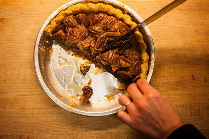by: TRIBUNE FILE PHOTO - Several Portland bakeries are celebrating National Pi Day with - you guessed it - a slice of pie. March 14 - 3.14 - was adopted as Pi Day because of its sequence of numbers.